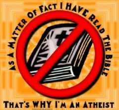atheist read the bible